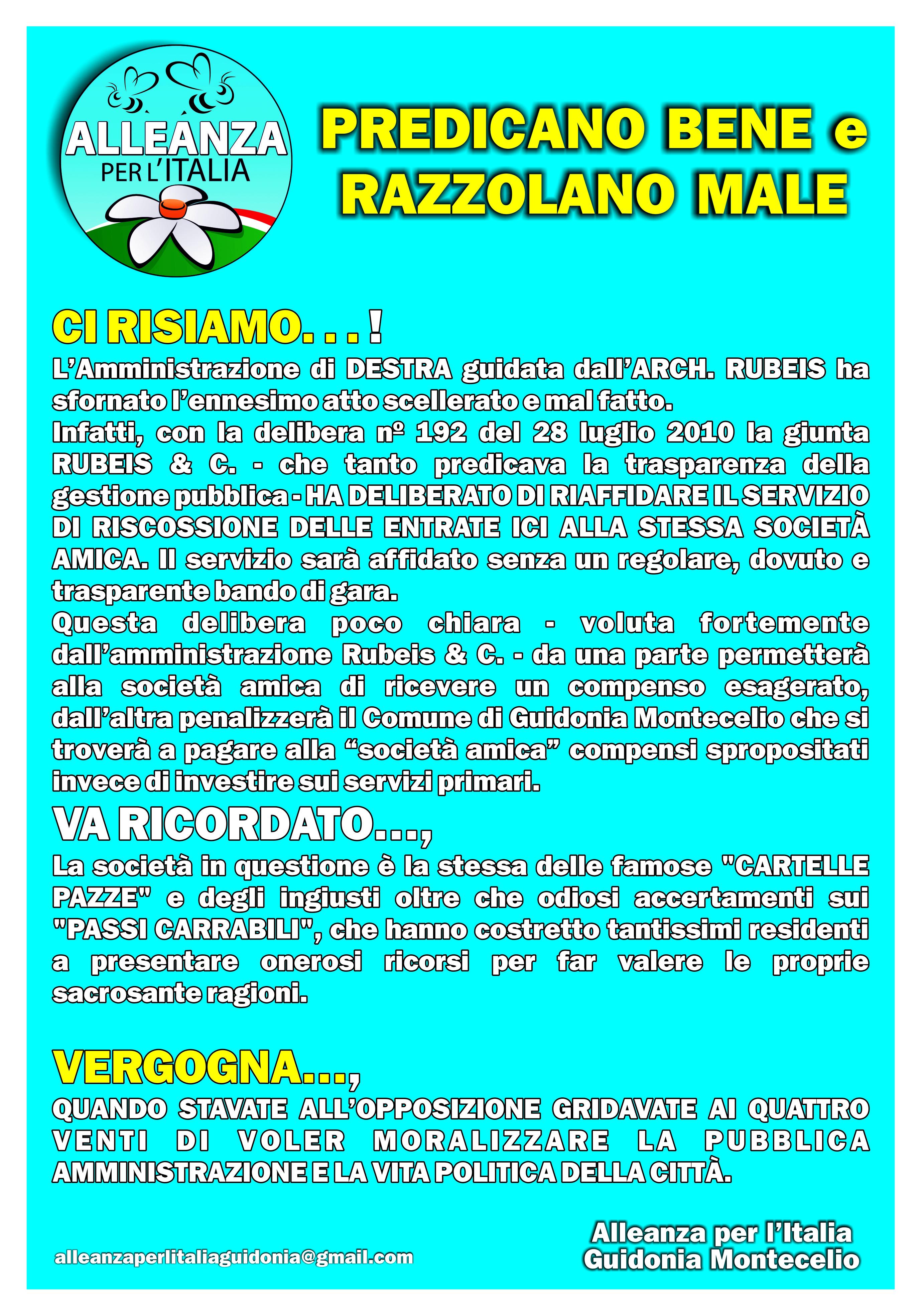 Manifesto API GUIDONIA